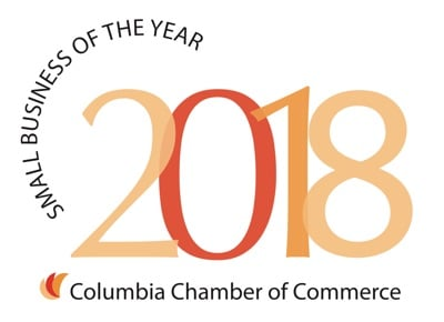 Small Business of the Year, Columbia Chamber of Commerce